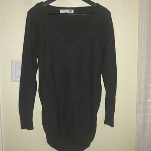 old navy maternity sweater large